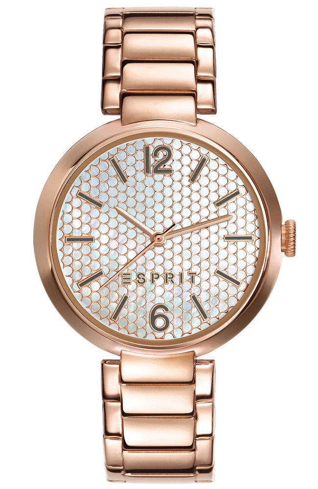 ESPRIT Rose Gold Stainless Steel Bracelet ES109032008