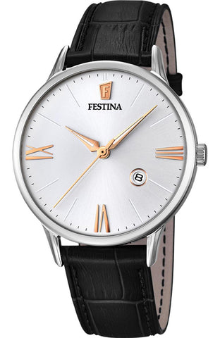 FESTINA Chronograph Two Tone Stainless Steel Bracelet F20363/2
