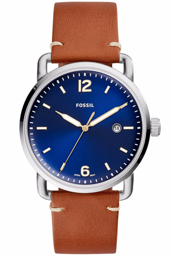 Fossil The Commuter Brown Leather Strap FS5325