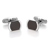 LUCA BARRA Cufflinks Stainless Steel GE126