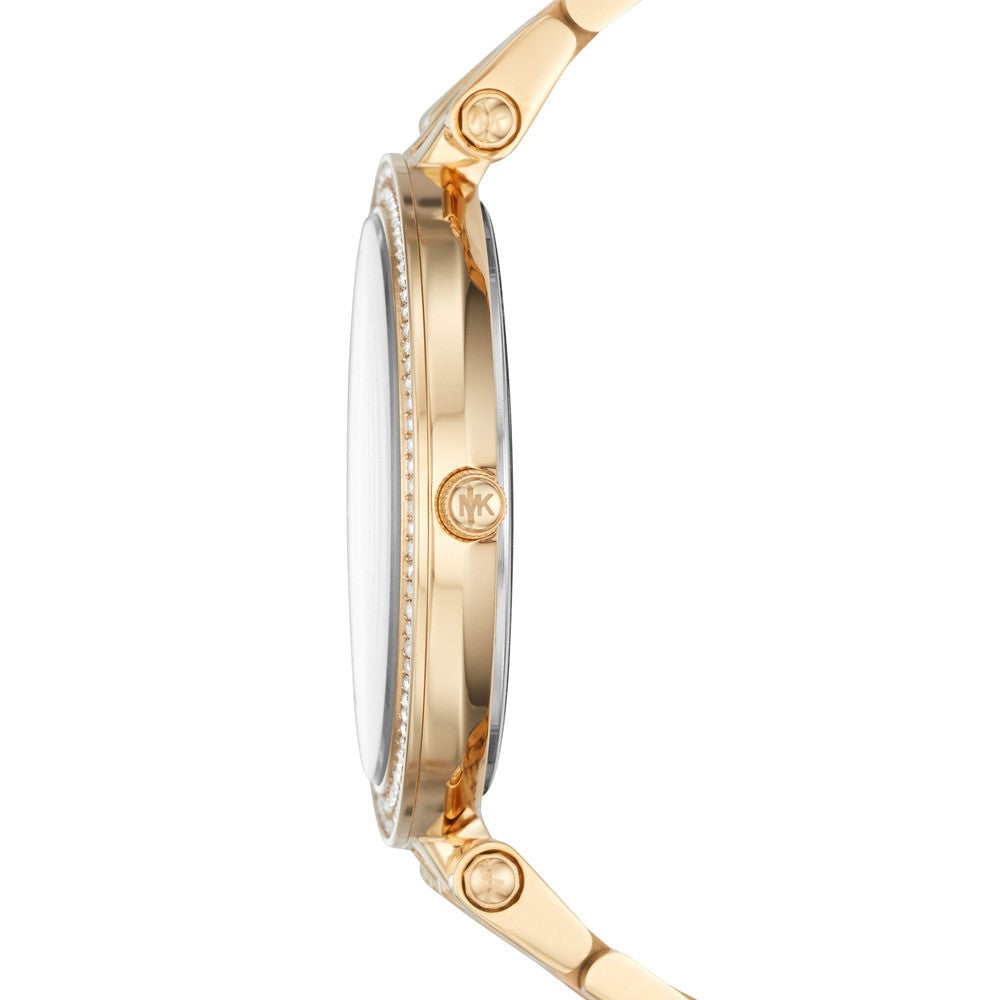 Michael KORS Mini Darci Two Tone Stainless Steel Bracelet MK3507