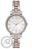 Michael Kors Sofie Two Tone Stainless Steel Bracelet MK4458