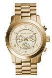 MICHAEL KORS Ladies XL Chrono Gold Stainless Steel MK8077