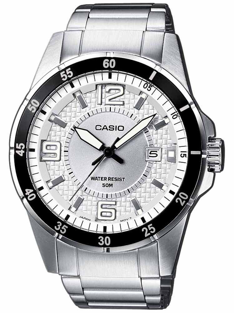 CASIO Collection Stainless Steel Bracelet White Dial MTP-1291D-7AVEF