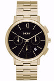 DKNY Willoughby Chronograph Gold Stainless Steel Bracelet NY2540
