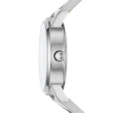DKNY Soho Silver Leather Strap NY2786