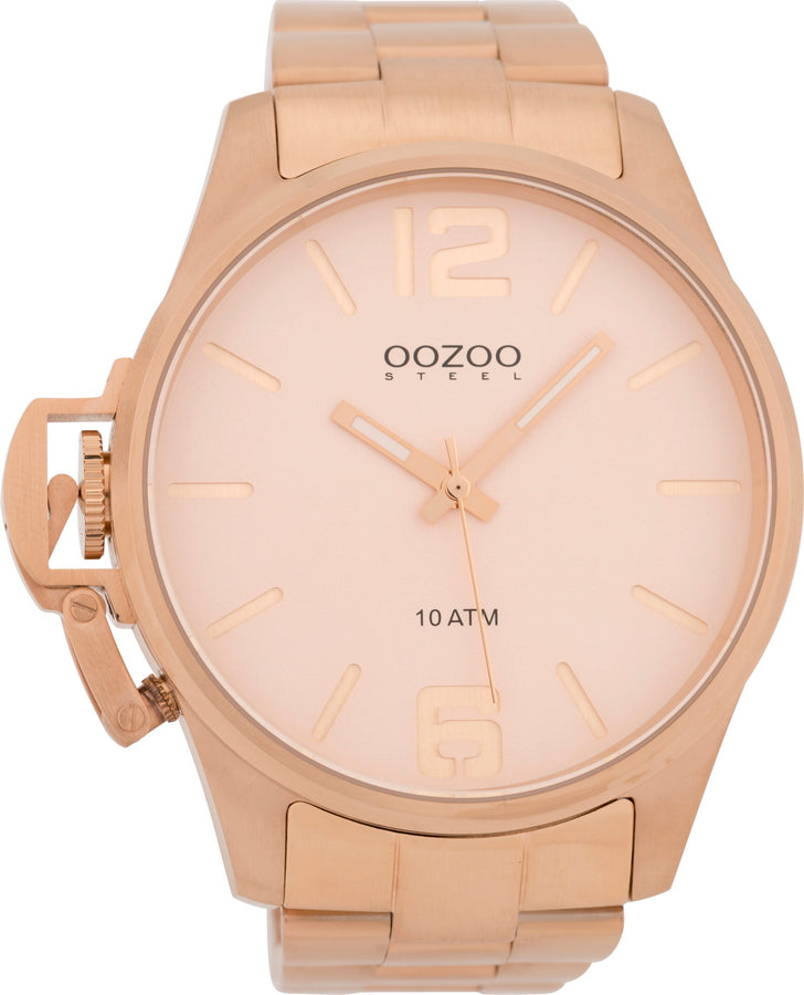 OOZOO Steel Rose Gold Stainless Steel Bracelet OSGR10