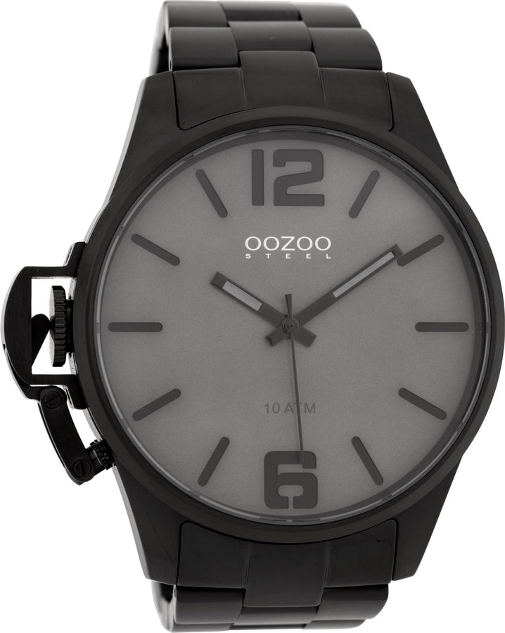 OOZOO Steel Black Stainless Steel Bracelet OSGR18