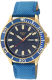 POINTWATCH Poseidon Blue Leather Strap SK37