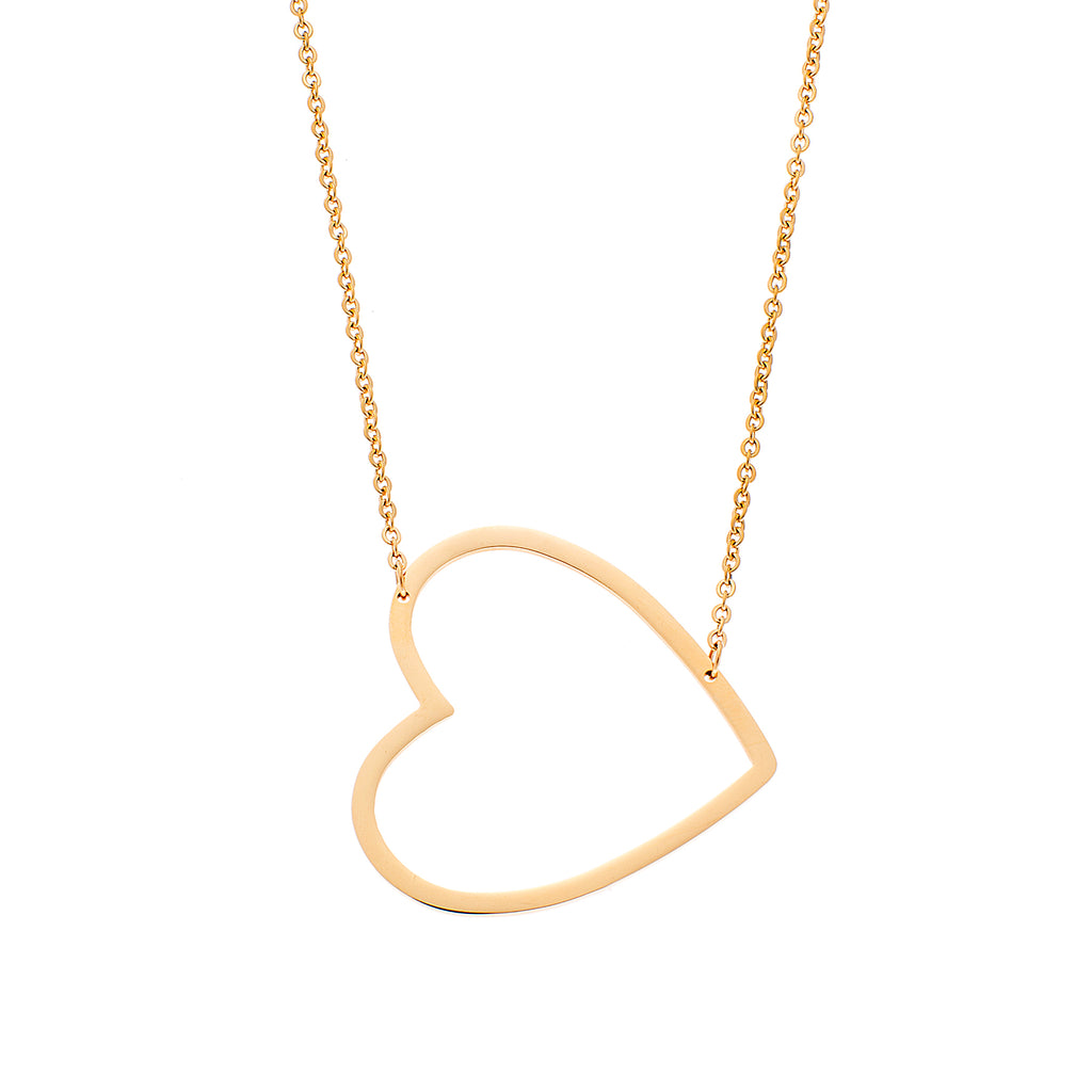 PUPPIS Stainless Steel Necklace PUP30525G