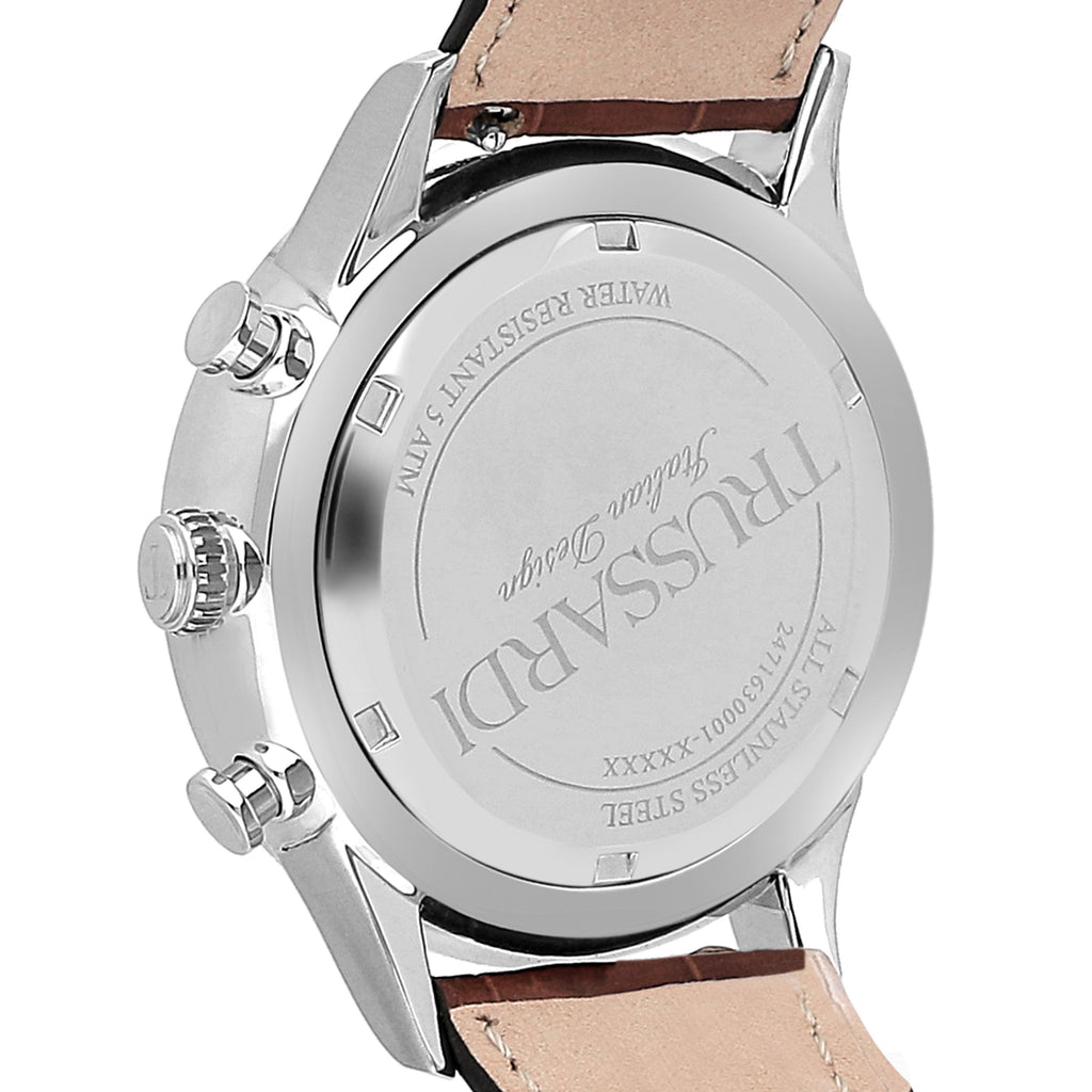 TRUSSARDI T-Complicity Brown Leather Strap R2471630001