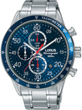 LORUS Sports Chronograph Stainless Steel Bracelet RM329EX9