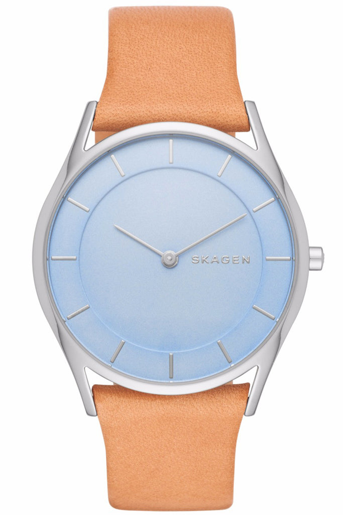SKAGEN Holst Brown Leather Strap SKW2451