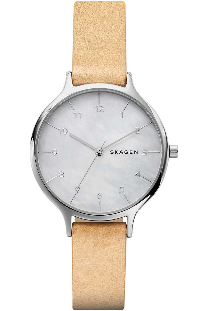 SKAGEN Anita Brown Leather Strap SKW2634