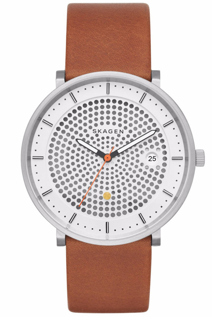 SKAGEN Hald Brown Leather Strap SKW6277