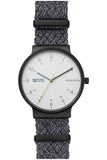 SKAGEN Ancher Gray NATO Day-Date Watch SKW6454