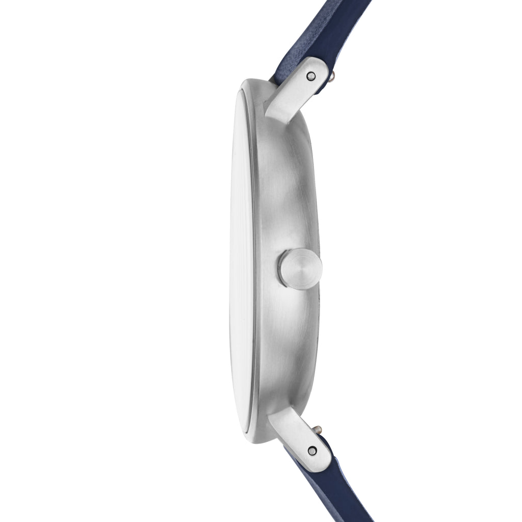 SKAGEN Aaren Blue Leather Strap SKW6469