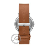 Skagen Signatur Brown Leather Strap SKW6578
