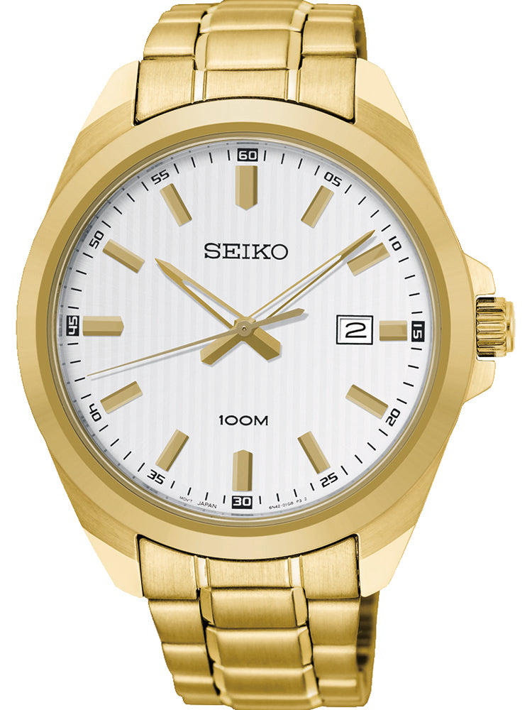 SEIKO CLASSIC GOLD STAINLESS STEEL BRACELET SUR280P1