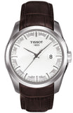 TISSOT COUTURIER Brown Leather Strap T0354101603100