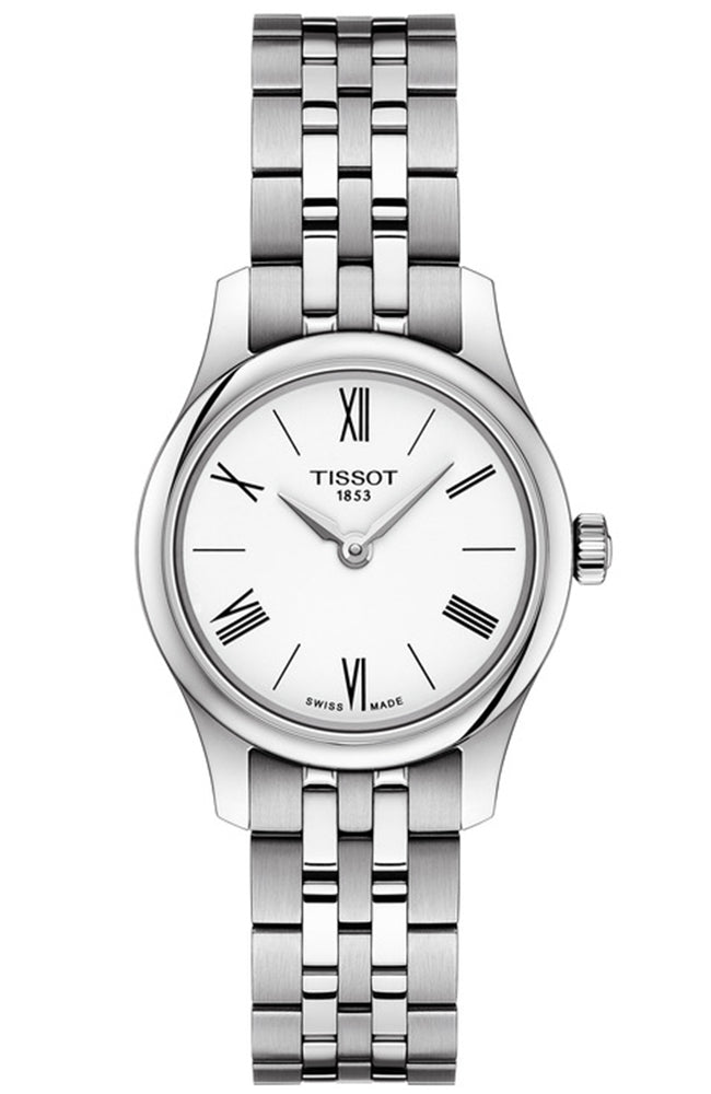 TISSOT TRADITION STAINLESS STEEL BRACELET T0630091101800