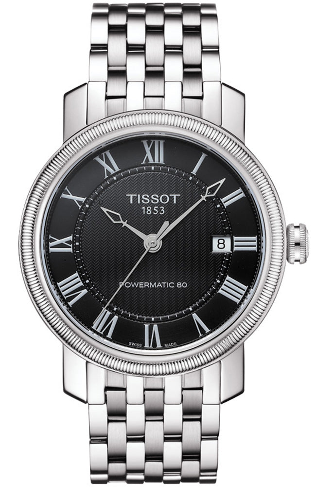 TISSOT Bridgeport Powermatic 80 Stainless Steel Bracelet T0974071105300