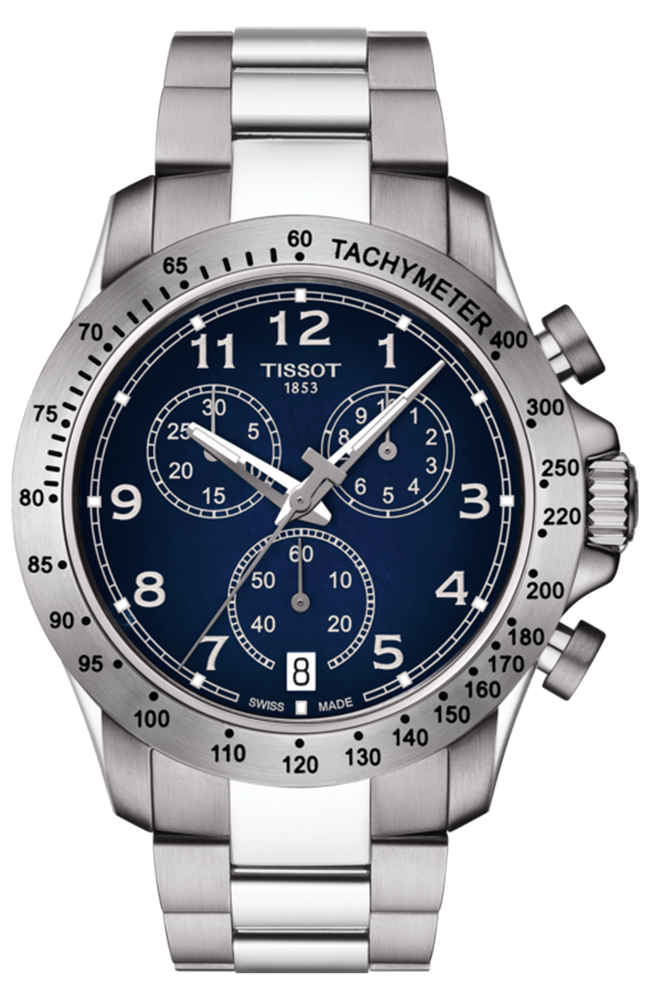 TISSOT V8 Chrono Stainless Steel Chronograph T1064171104200