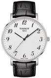 TISSOT Everytime Black Leather Strap T1096101603200