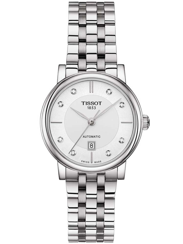 TISSOT Carson Automatic Stainless Steel Bracelet T1222071103600
