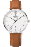 OBAKU DENMARK brown leather strap V181GDCWRZ