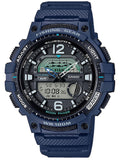 CASIO Collection Blue Rubber Strap WSC-1250H-2AVEF