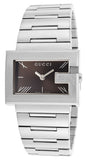 GUCCI Timepieces rectangle case stainless steel bracelet YA100505