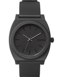 Nixon Time Teller P Black Rubber Strap A119-524-00