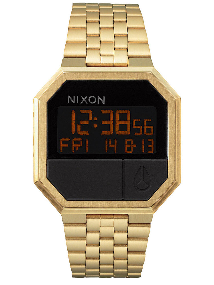 NIXON The Re-Run Gold Stainless Steel Bracelet A158-502-00