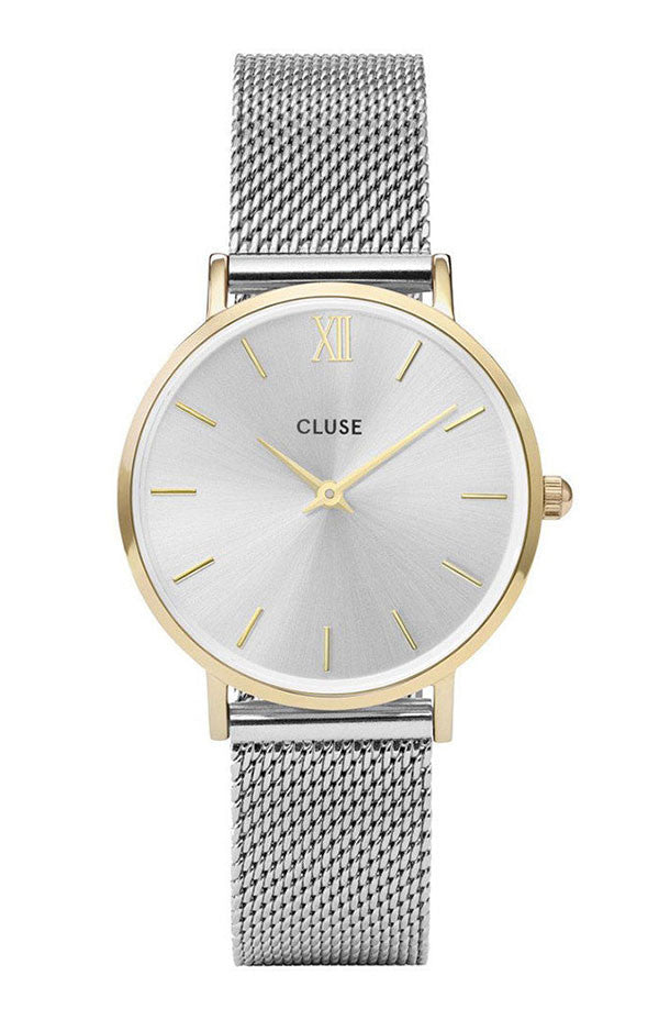 Cluse MINUIT MESH Stainless Steel Bracelet CW0101203015