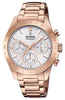 Festina Diamond Rose Gold Stainless Steel Bracelet F20399/1