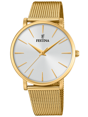 FESTINA Classic Brown Leather Strap F6838/2