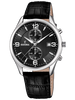 FESTINA Chronograph Black Leather Strap F6855/8