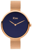 JCou Luna Rose Gold Stainless Steel Bracelet JU17115-3