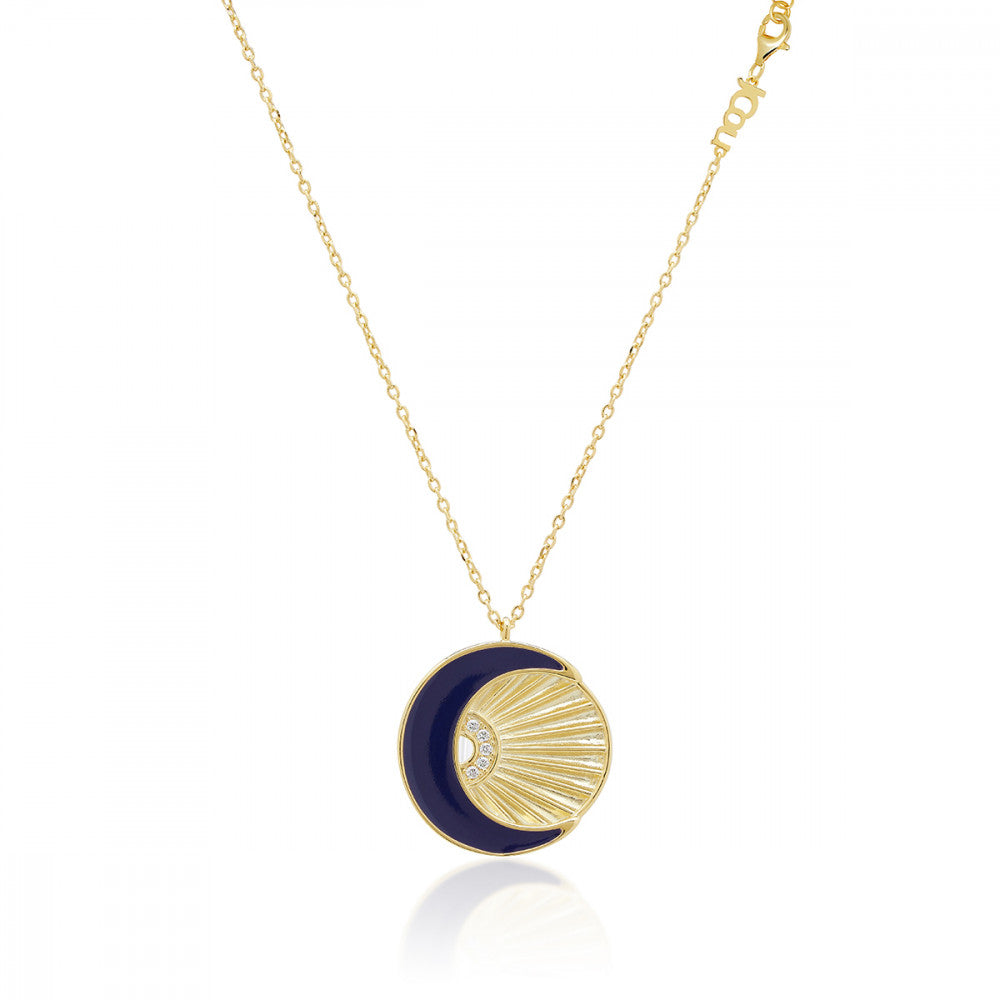 JCOU SUN AND MOON NECKLACE JW901G1-01
