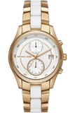 Michael Kors Briar Two Tone Stainless Steel Bracelet MK6466