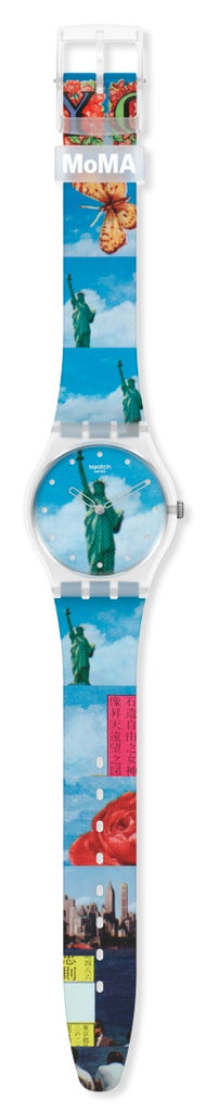 SWATCH NEW YORK BY TADANORI YOKOO, THE WATCH GZ351