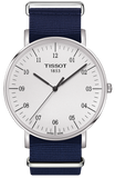 TISSOT EVERYTIME Big Gent Blue Fabric Strap T1096101703700