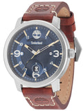 TIMBERLAND PEMBROKE Brown Leather Strap TBL15017JS03