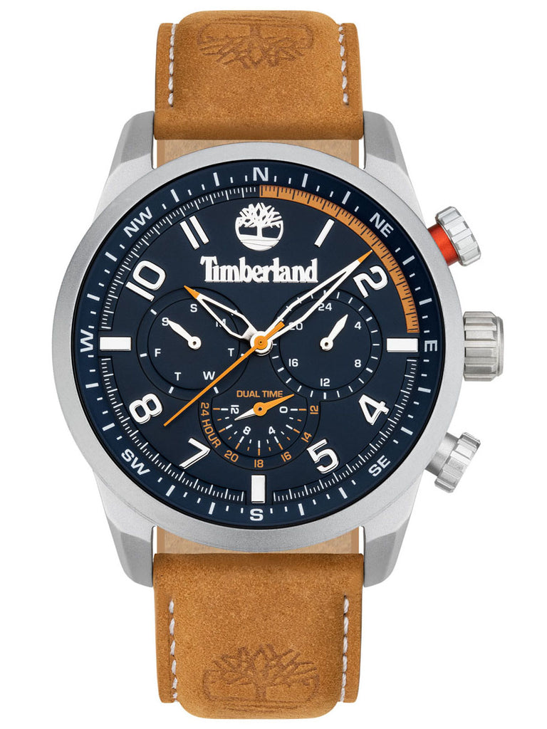 TIMBERLAND FORESTDALE BROWN LEATHER STRAP TDWJF2000702