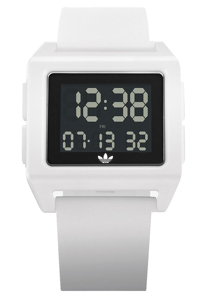 ADIDAS Archive SP1 White Rubber Strap Z15-100-00
