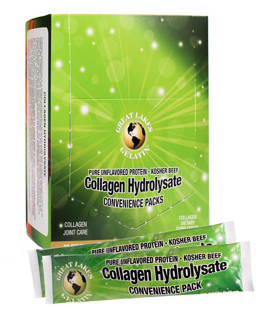 Great Lakes Collagen Hydrolysate- 20 Pack of single servings