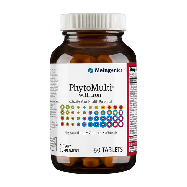 Metagenics- PhytoMulti With Iron - 60 Tablets