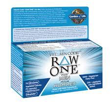 Garden of Life- Raw One Men's Multivitamin - 75 capsules