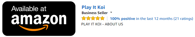 Play It Koi on Amazon